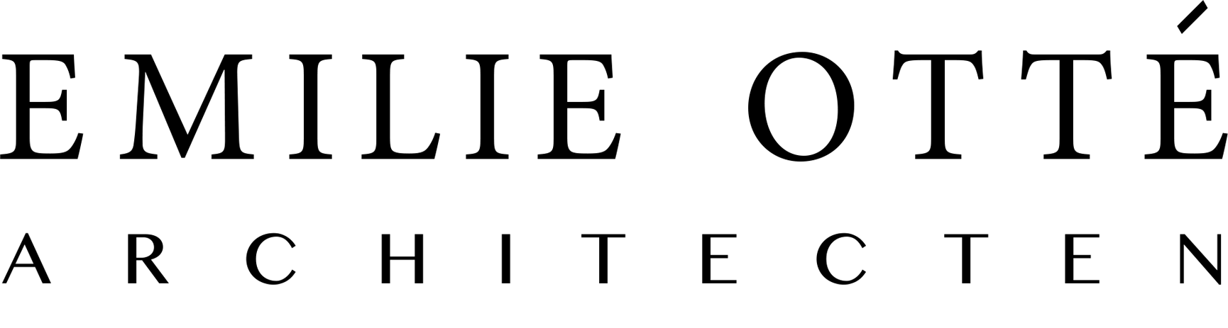 Logo Emilie Otté Architecten